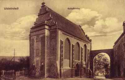 Schlosskapelle um 1930